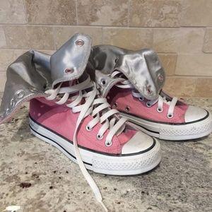 Converse all star HI top shoes